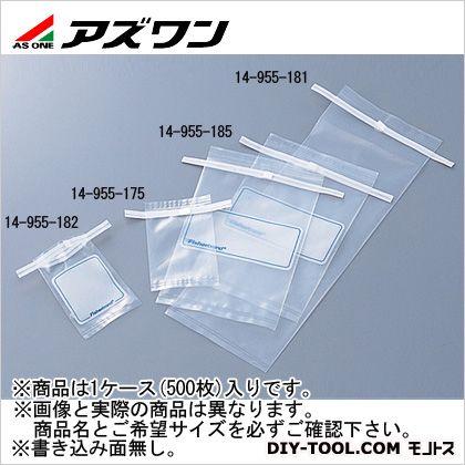 アズワン 滅菌サンプルバッグ 110×300mm810ml 5-5355-04 1ケース(500枚入)