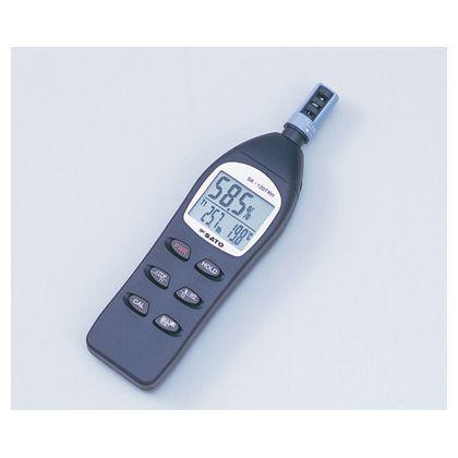 SATO デジタル温湿度計 SK-120TRH (1-8804-01)
