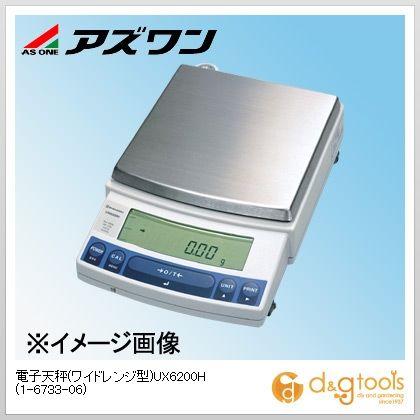 アズワン 電子天秤(ワイドレンジ型)UX6200H (1-6733-06)