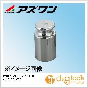 アズワン 標準分銅 E-2級 100g (1-6270-08)