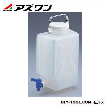 アズワン ナルゲン活栓付角型瓶 2/9ガロン 220×153×361mm 5-056-01 1 個