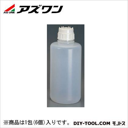 アズワン 強化瓶 PP製 1L 1-7347-02 1包(6個入)