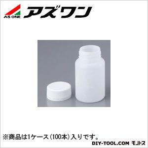 アズワン セキュリティーボトル 丸型 100ml 1-1548-02 1ケース(100本入)