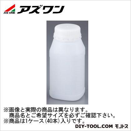 アズワン セキュリティーボトル 角型 2L 1-1547-07 1ケース(40本入)