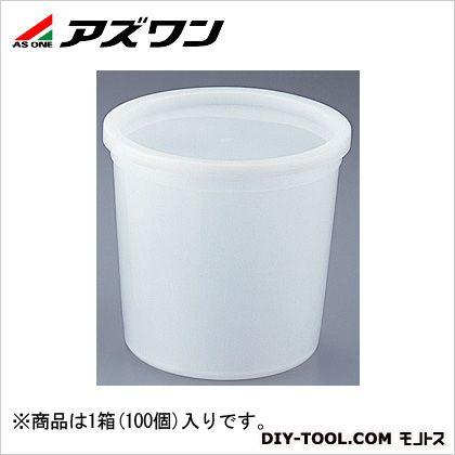 アズワン 試料保存容器 473ml 4-5316-05 1箱(100個入)