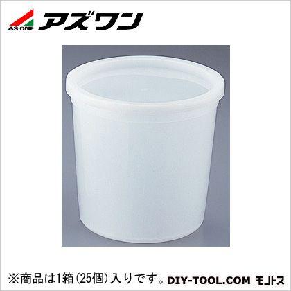 アズワン 試料保存容器 2500ml 4-5316-08 1箱(25個入)