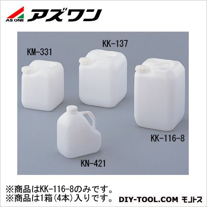 アズワン ピュアボトル 265×265×395mm20L 2-7701-04 1箱(4本入)