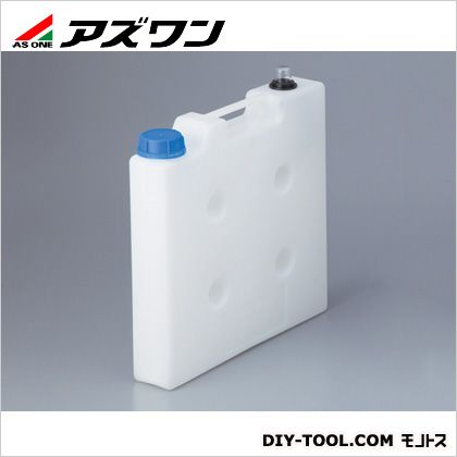アズワン 液面計付き廃液回収容器 65×330×405mm 1-1733-01