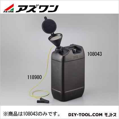 アズワン 液面計付き廃液回収容器 185×290×515mm 1-1733-02