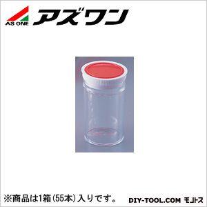 アズワン ラボランスチロール棒瓶 200ml 9-850-09 1箱(55本入)