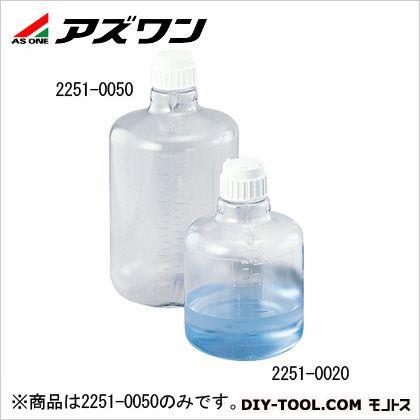 アズワン 大型透明丸型瓶 20L 1-7904-02 1 個