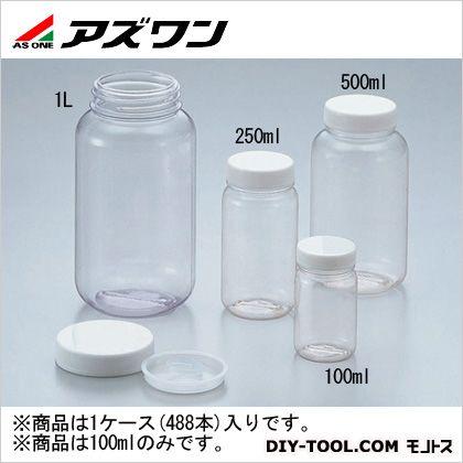 アズワン 広口瓶 ケース販売 100ml 5-031-51 1ケース(488本入)