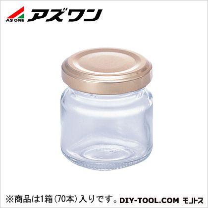 アズワン ジャム瓶 48ml 1-4953-51 1箱(70本入)