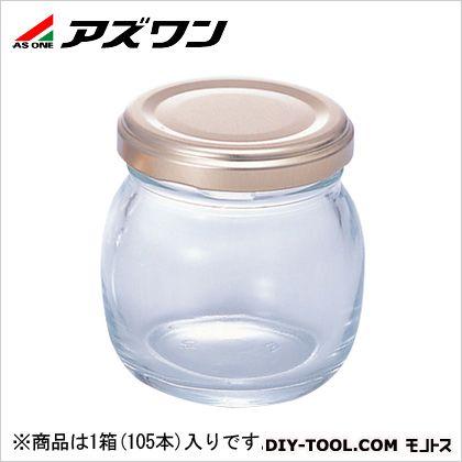 アズワン ジャム瓶 107ml 1-4953-53 1箱(105本入)