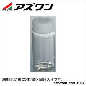 アズワン スクリュー管瓶 6ml 7-2110-34 1箱(20本/袋×5袋入)