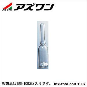 アズワン アンプル管 AP-100 白 φ36×138×203mm100ml 5-124-07 1箱(100本入)