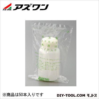 アズワン 滅菌採水瓶 ハイポ入 1000ml 2-6425-04 1箱(1本/袋×50袋入)