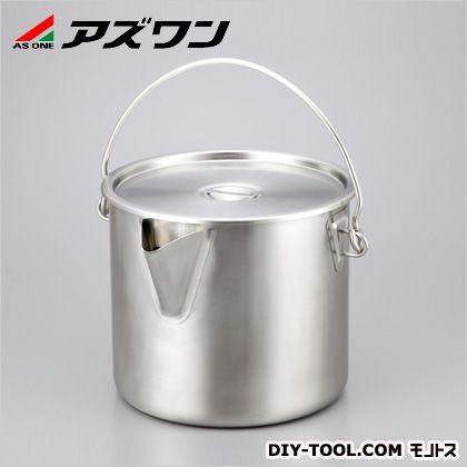 アズワン ポット型蓋付バケツ 27L 1-2394-03