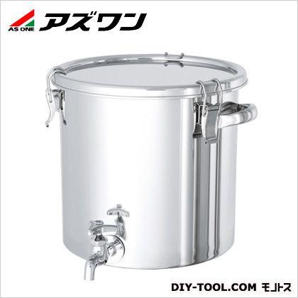 アズワン 蛇口付容器 20L 1-8267-02