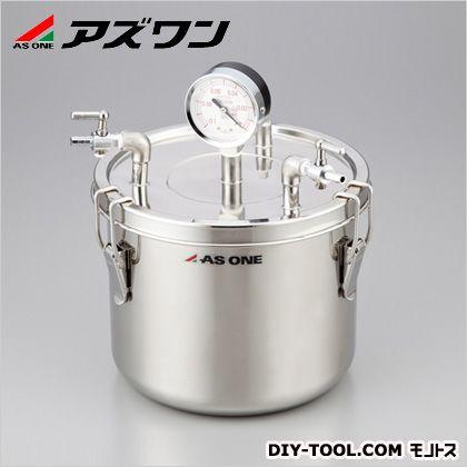 アズワン ステン真空缶 φ240×195mm約8L (1-6095-03)
