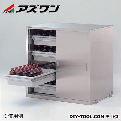 アズワン 耐震ステンレス薬品庫 900×700×900mm 3-4462-23