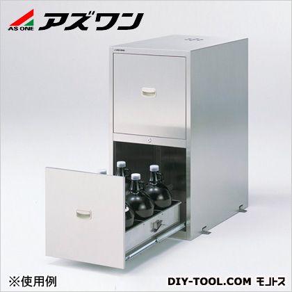 アズワン 耐震ステンレス薬品庫 450×700×900mm (3-4462-25)