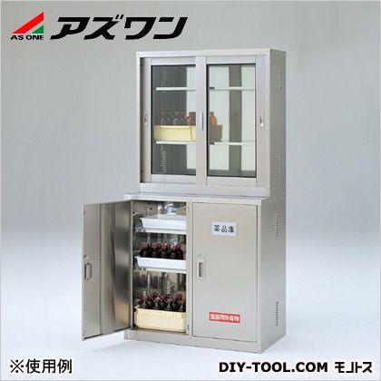 アズワン ステンレス薬品庫 SN・SGセット 900×500×1800mm 3-1122-12 1 組