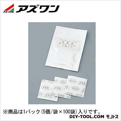 """アズワン 乾燥剤""""アイディシートP""""  4-4025-02 1パック(5個/袋×100袋入)"""