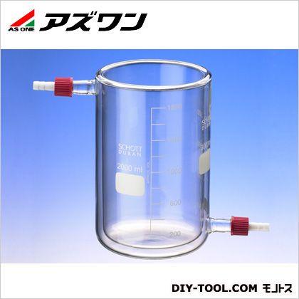 アズワン 保温・保冷ビーカー 2000ml (1-2155-03)