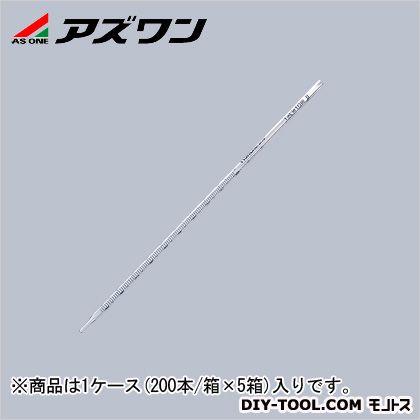 アズワン ディスポピペット レギュラー先端 1ml 5-5353-03 1ケース(200本/箱×5箱入)