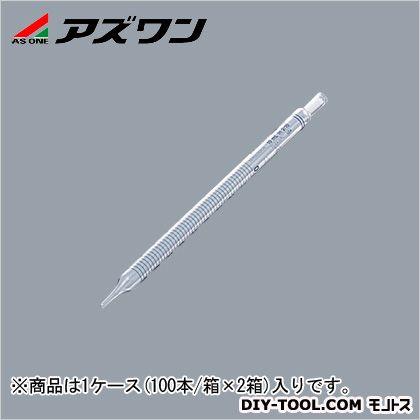 アズワン ディスポピペット ショートサイズ 10ml 5-5353-09 1ケース(100本/箱×2箱入)