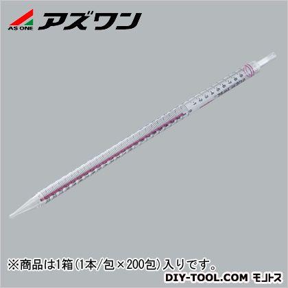 アズワン ストリペット 赤 25ml 1-141-05 1箱(1本/包×200包入)
