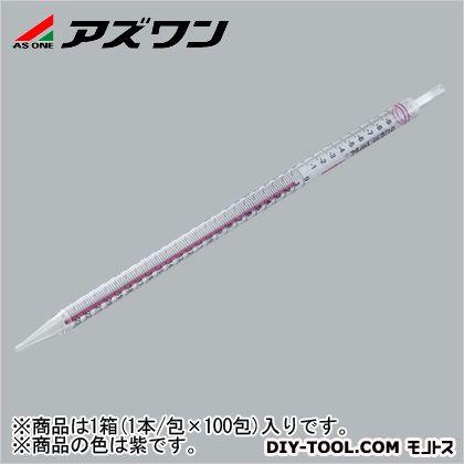 アズワン ストリペット 紫 50ml 1-141-06 1箱(1本/包×100包入)