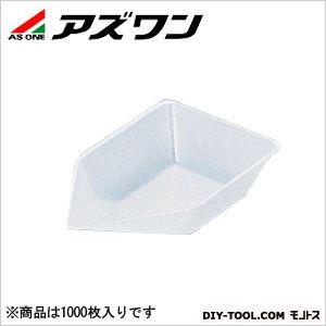 アズワン バランストレイ 非帯電 100×60×25mm70ml (1-5239-04) 1箱(1000枚入)