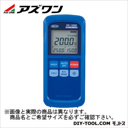 アズワン ハンディタイプ温度計 約76(W)×167(H)×36(D)mm (2-1082-06)