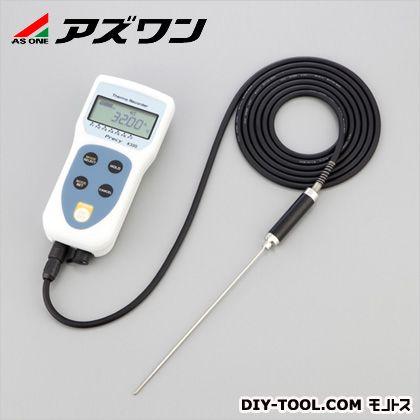 アズワン デジタル温度計K320セット 65×140×30mm (1-978-01)