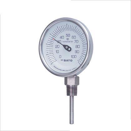 SATO バイメタル式温度計 (2030-42)