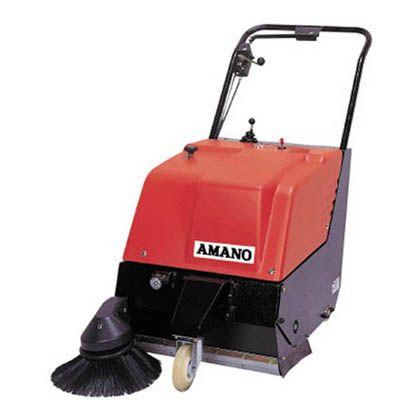最高 アマノ 路面清掃機自走式歩行式(バッテリー) HM-600E, ミヤコジマク f82f6da9