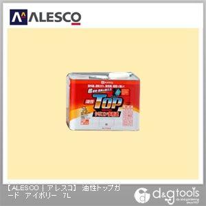 カンペハピオ 油性トップガード(シリコン樹脂塗料) アイボリー 7L