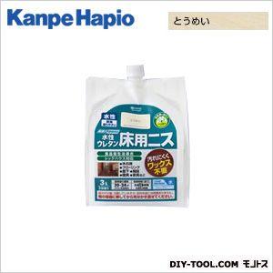 カンペハピオ 水性ウレタン床用ニス とうめい 3L ニス ステイン 塗料 オイルステイン