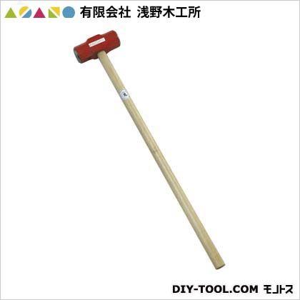 浅野木工所 両口ハンマー柄付10ポンド(4.5kg) (25065)