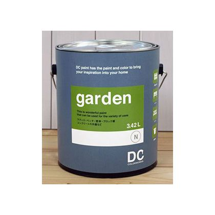 DCペイント 屋外用 多用途 ペンキ Garden 【0880】Cauliflower Cream 3.8L DC-GG-0880 塗料 ペイント ラティス