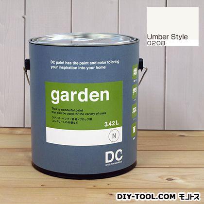 DCペイント 屋外用多用途水性塗料 Garden(屋外用ペイント) 【0208】Umber Style 約3.8L atom 塗料 水性塗料