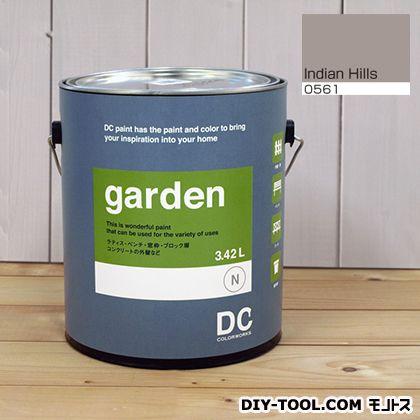 DCペイント 屋外用多用途水性塗料 Garden(屋外用ペイント) 【0561】Indian Hills 約3.8L atom 塗料 水性塗料