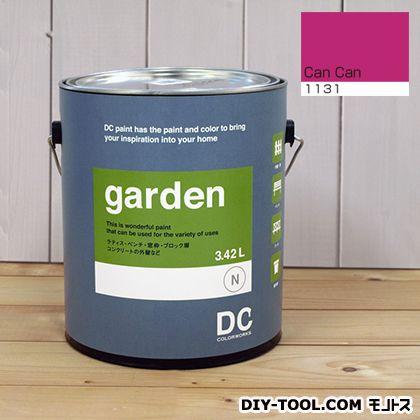 DCペイント 屋外用多用途水性塗料 Garden(屋外用ペイント) 【1131】Can Can 約3.8L atom 塗料 水性塗料