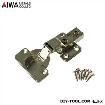 直輸入品激安 アイワ金属 AIWA 永遠の定番 スライド蝶番 丁番 AP-1033C 35mm 半かぶせキャッチ付