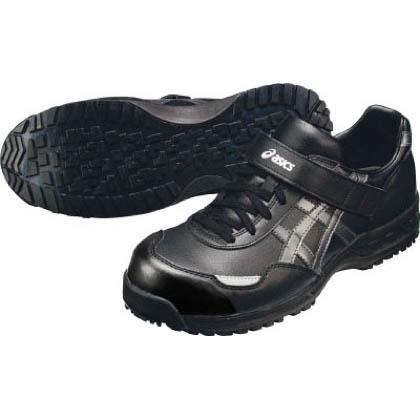 アシックス 作業用靴 ウィンジョブ51S 9076ブラック×ガンメタル 24.5cm (FIS51S.9075 24.5)