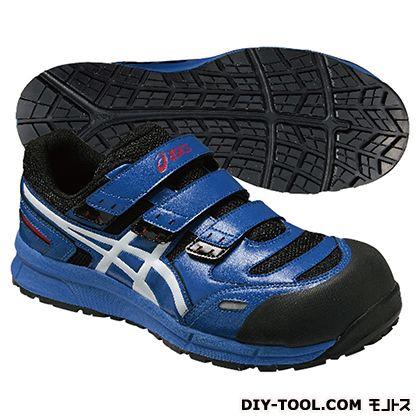 アシックス 作業用靴 ウィンジョブ CP102 青 (FCP102.4201 27.5)