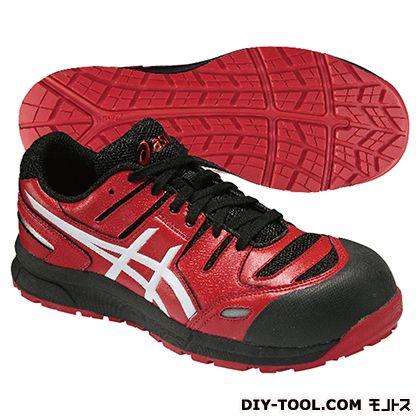 アシックス 作業用靴 ウィンジョブ CP103 赤 (FCP103.2301 24.0)