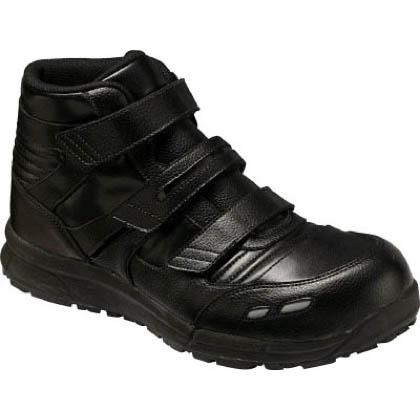 アシックス 作業用靴 ウィンジョブ CP501 黒 (FCP501.90 22.5)